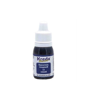 Краситель гелевый пищевой Синий 10гр, KREDA