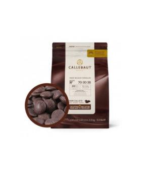 Шоколад темный Barry Callebaut горький в галетах (70,5% какао)