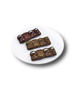 Пластиковая форма для шоколада, Бык 2021