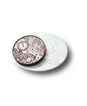 Пластиковая форма для шоколада, Медаль Новогодняя №1