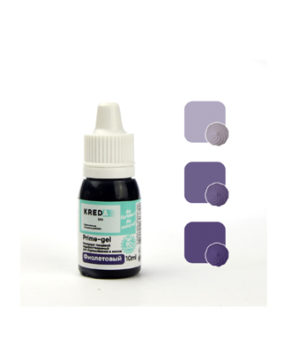 Краситель гелевый пищевой Фиолетовый 10мл, KREDA Prime-gel