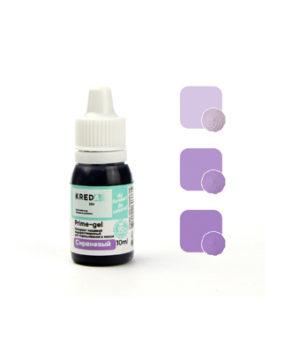 Краситель гелевый пищевой Сиреневый 10мл, KREDA Prime-gel
