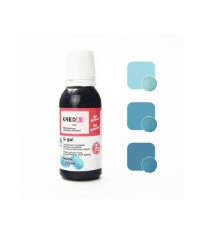 Краситель гелевый пищевой Бирюза №35 25мл, KREDA S-gel