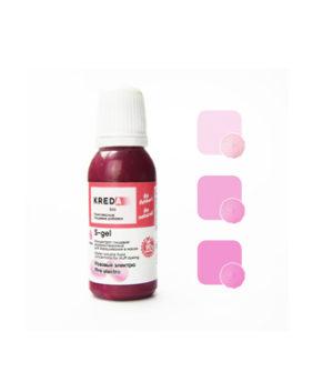 Краситель гелевый пищевой Розовый Электро №19 20мл, KREDA S-gel