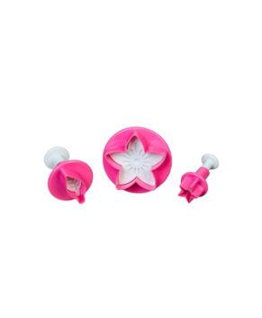 Набор плунжеров кондитерских Цветок, листок, звездочка