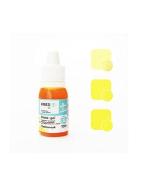 Краситель гелевый пищевой Лимонный 10мл, KREDA Prime-gel