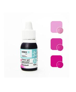Краситель гелевый пищевой Розовый 10 мл, KREDA Prime-gel