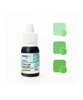 Краситель гелевый пищевой Зелёный 10мл, KREDA Prime-gel