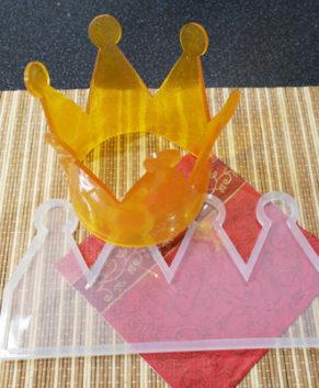 Молд силиконовый Корона большая №6