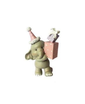 Молд силиконовый 3D Слоник с подарком