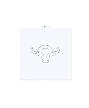 Трафарет для пряников Голова быка