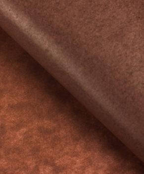 Бумага упаковочная Тишью, Коричневая 10 листов