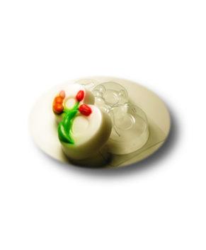 Пластиковая форма для шоколада, 8 Марта