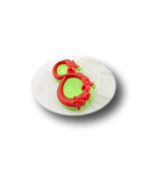 Пластиковая форма для шоколада, 8 Марта в цветах