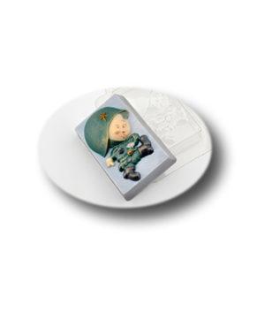 Пластиковая форма для шоколада, Боевой малыш