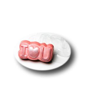 Пластиковая форма для шоколада, Love You