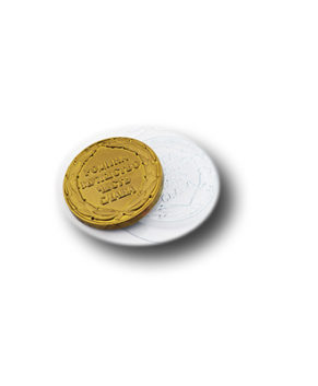 Пластиковая форма для шоколада, Медаль мужество