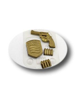Пластиковая форма для шоколада, Набор военного
