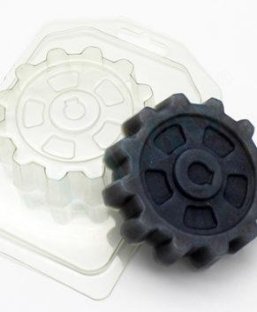 Пластиковая форма для шоколада Шестерня