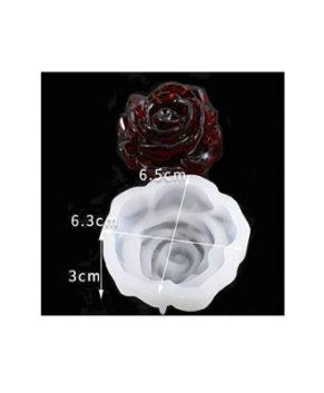 Молд силиконовый 3D Роза