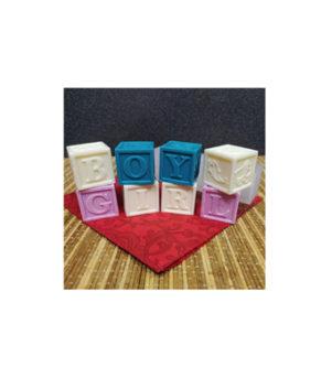 Молд силиконовый Детские кубики 4 шт