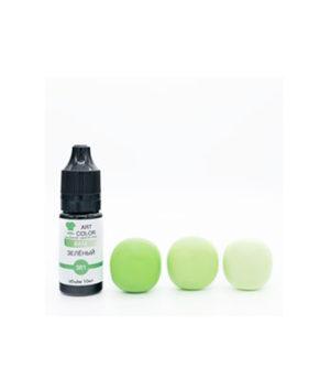 Краситель гелевый пищевой Art Colors Зелёный, 10мл