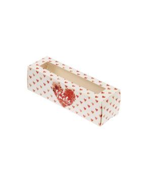 Коробка для макарун 18х5,5х5,5см Для тебя