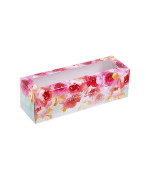 Коробка для макарун 18х5,5х5,5см Наслаждайся