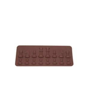 Силиконовая форма Шахматы мини, 16 ячеек