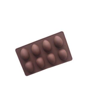 Силиконовая форма Яйцо, 8 ячеек