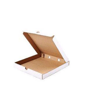 Коробка для пиццы и пирогов 30х30х4 см, белая