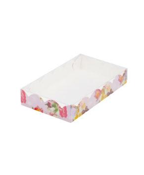Коробка для пряников с прозрачной крышкой, 20х12х3,5 см С Праздником