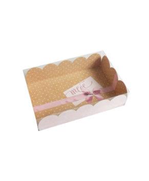 Коробка для кондитерских изделий Очарование 20х30х8 см