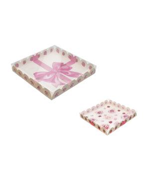 Коробка для пряников Cладости в подарок, 21х21х3см