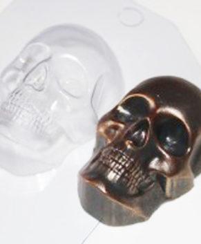 Пластиковая форма для шоколада Череп