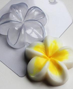 Пластиковая форма для шоколада Цветок Плюмерия