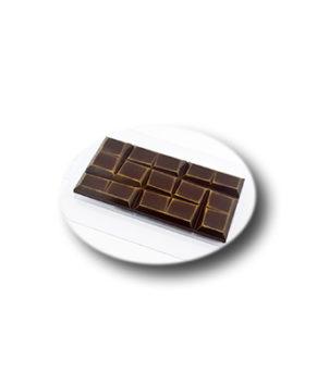 Пластиковая форма для шоколада  Плитка Зигзаг