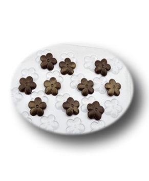Пластиковая форма для шоколада  Шоко гео #4 Цветочки