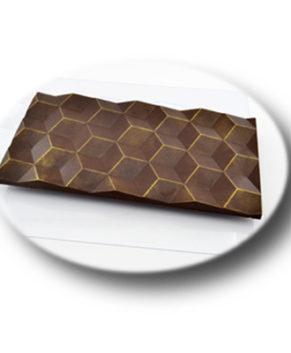 Пластиковая форма для шоколада  Большие Кубики