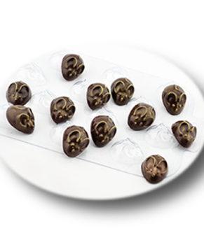 Пластиковая форма для шоколада  Перепелиные мыши