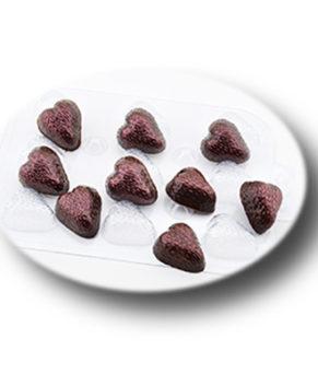 Пластиковая форма для шоколада  Шоко-клубника