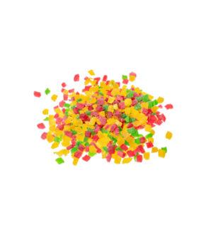 Цукаты цветные, мелкая фракция, 500гр