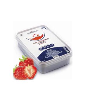Пюре AGROBAR Клубника 0,25 кг (замороженное)