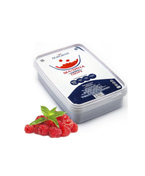 Пюре AGROBAR Малина 0,25 кг (замороженное)