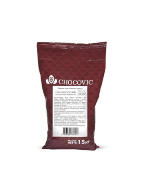 Тёмная шоколадная масса Chocovic 54,1%, 1,5кг