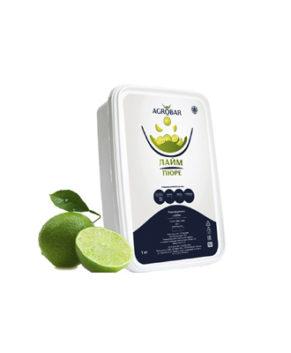 Пюре AGROBAR Лайм 1 кг (замороженное)