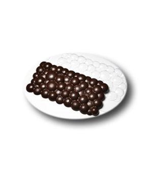 Пластиковая форма для шоколада  Плитка Пузырьки