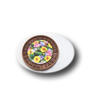 Пластиковая форма для шоколада Медаль Любимый преподаватель