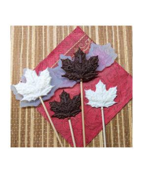 Молд силиконовый Кленовый лист