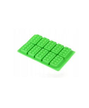 Силиконовая форма  Детали Лего 2, 10 ячеек